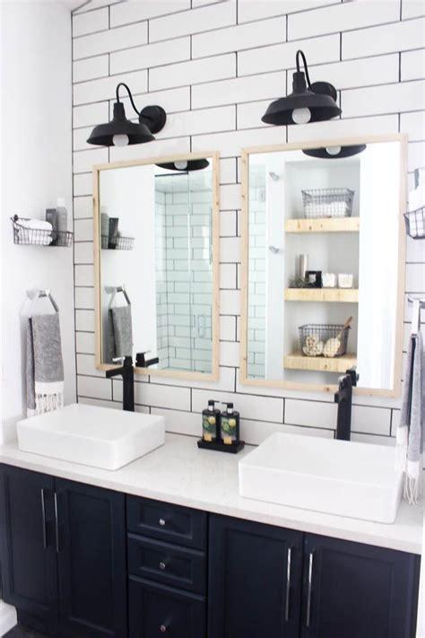 modern bathroom reveal home decor inspiration bathroom