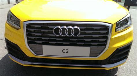 Welche Düse Zum Auto Lackieren by Q2 Vegas Gelb 7 Welche Lackierung Audi Q2 208528157