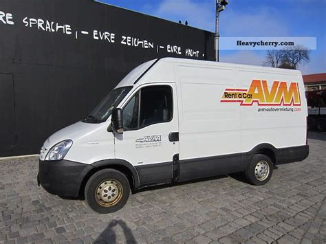 Box 35s iveco daily 35s12v box 2007 box type delivery high