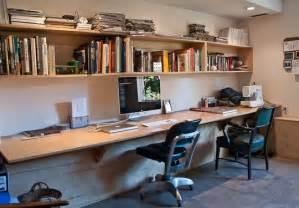 langer schreibtisch one desk for two floating desk desks and wall