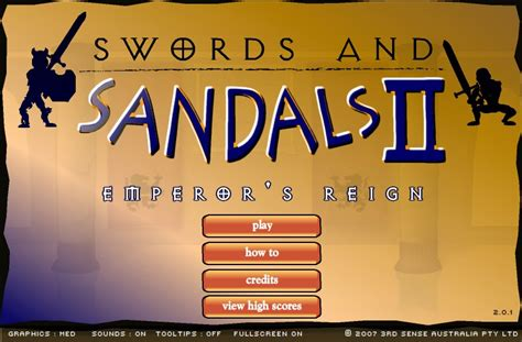 swords and sandals 1 hacked swords and sandals 2 hacked cheats hacked free