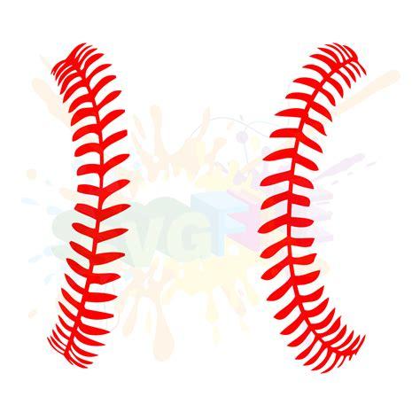 baseball clipart baseball seams svg clipart