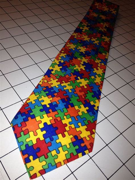 primary colors autism awareness s tie