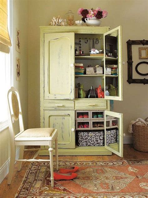 repurposed armoire 15 creative ways to repurpose an old antique armoire