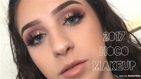 makeup homecoming 2017 homecoming makeup tutorial