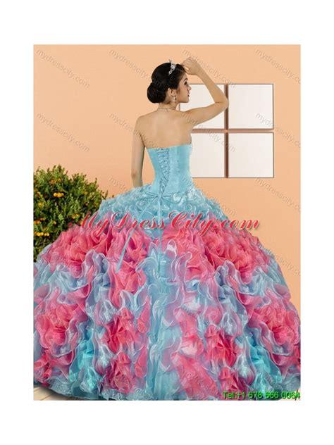 design quinceanera dress designer multi color 2015 quinceanera dresses with beading