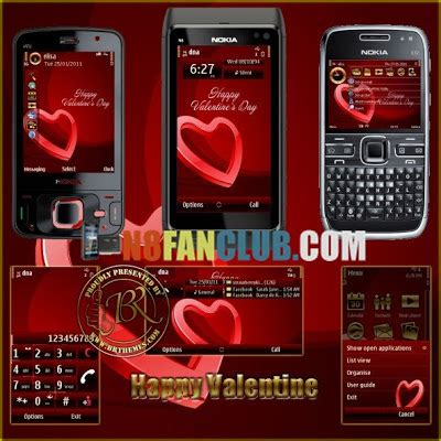 christmas themes for nokia n8 happy valentine theme for nokia n8 other belle