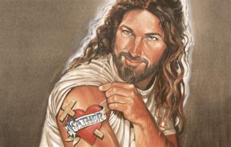 image of christ the problem with kitsch jesus sheridan voysey