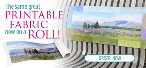 eq printable fabric roll eq printable fabric now available on a roll the