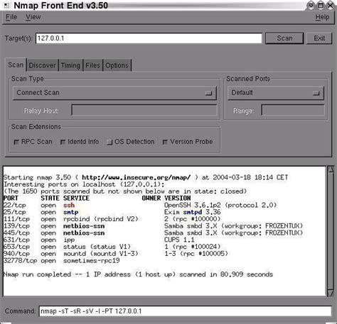 nmap fingerprinting tutorial iptables tutorial inetdoc net