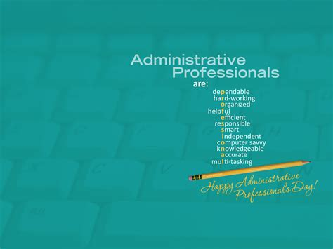 national administrative professionals day april 24 2019