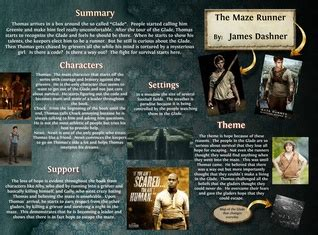 book report on maze runner glogster multimedia posters educational content