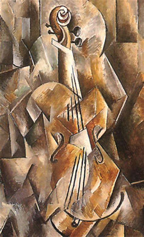 Picasso Synthetischer Kubismus by Georges Braque Violine Und Krug 1910