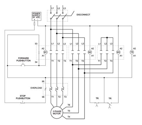 how to wire a 3 phase motor diagram wiring diagram and