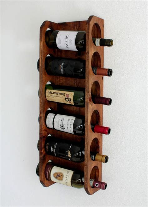 buy a crafted wall mounted wine rack vertical wine