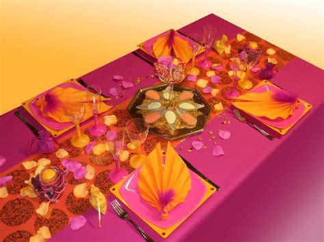 Decoration Inde by D 233 Coration De Table 224 Th 232 Me Inde Tables Joliment
