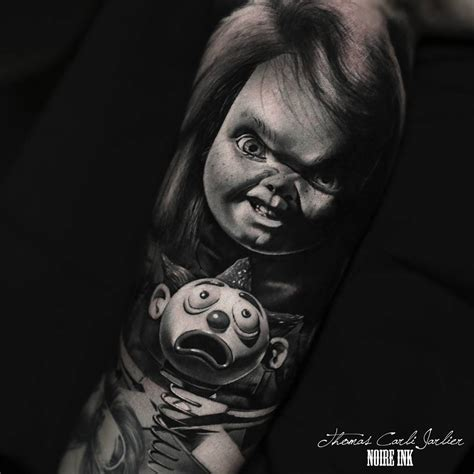 chucky tattoo by thomas carli jarlier