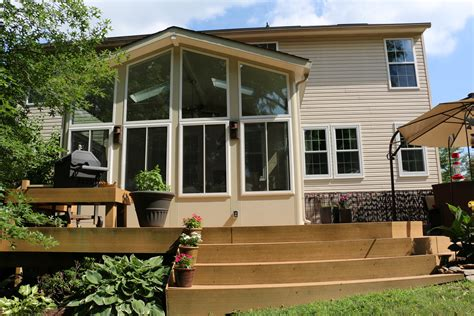 Sunroom On A Deck by Sunrooms Maryland