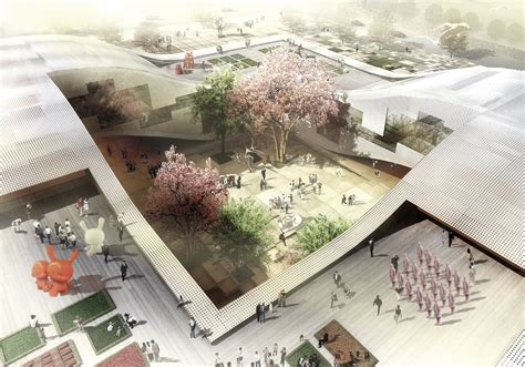 home concept design center gallery of dqz cultural center proposal holm
