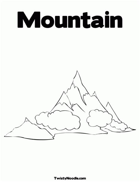 coloring pages mountain az coloring pages