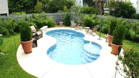 Small Pool Designs Best Backyard Pool Design Ideas Small Backyard Inground Pools