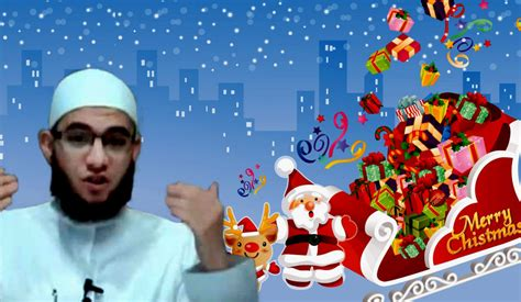 today christian muslim religious leader says saying merry
