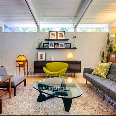 mid century modern living rooms mid century modern living room furniture pinterest