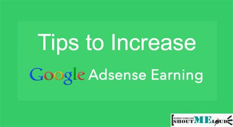 adsense tips 10 proven strategies to increase your adsense revenue