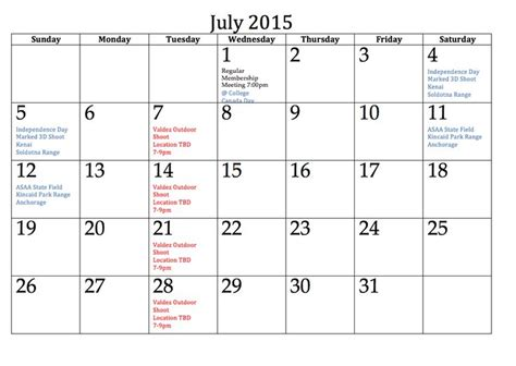 printable calendar 2015 uk july 43 best images about july 2015 calendar on pinterest