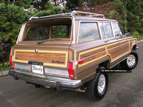 1988 Jeep Grand Wagoneer 1988 Jeep Grand Wagoneer Vintage Quot Woody Quot 4x4 In Condition