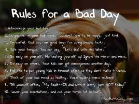 Bad Day If Youre A Bad Day Quotes Quotesgram