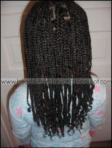 corn rolls and beaded hair styles beads braids beyond braided box braids little girls