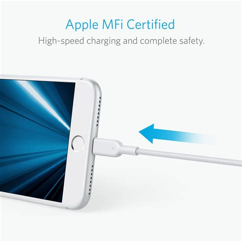 Kabel Data Iphone Not Certified powerline ii dura 3ft lightning a8432h21 kabel charging