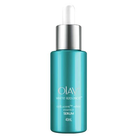 olay white radiance cellucent white essence serum