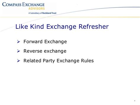 section 1031 like kind exchanges section 1031 like kind exchange guidance