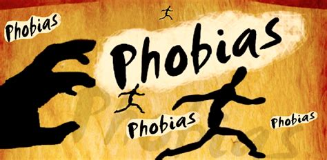 10 And Their Phobias by Scared Phobia Confusions
