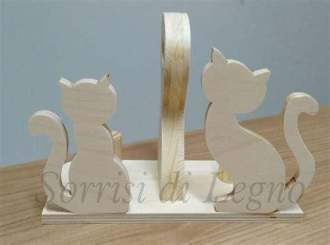 bicchieri in legno porta bicchieri gatti in legno per la casa e per te
