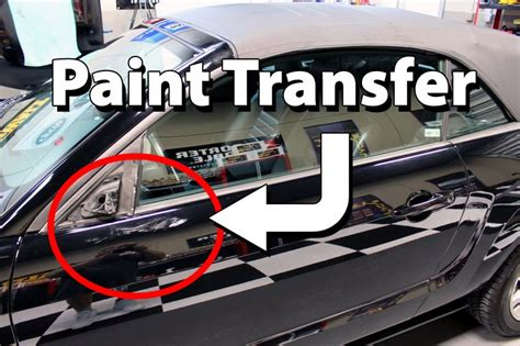 getting light scratches out of car paint how to remove paint transfer your car s paint