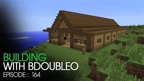 How To Make A Small Barn In Minecraft Minecraft Building With Bdoubleo Episode 164 Horse