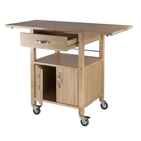 drop leaf kitchen island cart amazon com winsome wood drop leaf kitchen cart bar