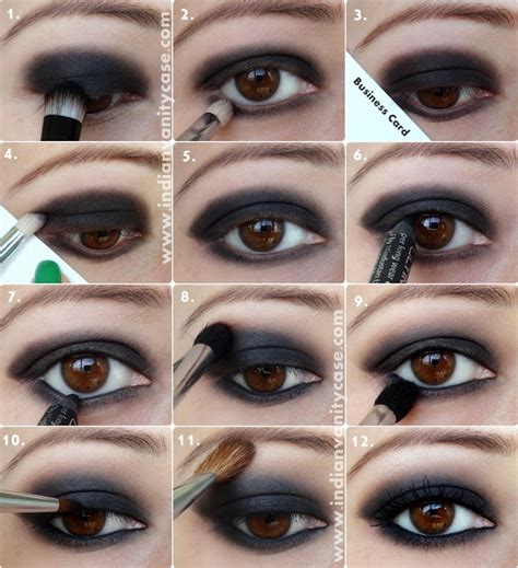 berbagai step by step tutorial eyeshadow natural vemale com 20 breathtaking smokey eye tutorials to look simply