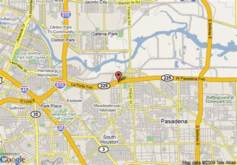 where is pasadena texas on the map map of gateway inn pasadena pasadena
