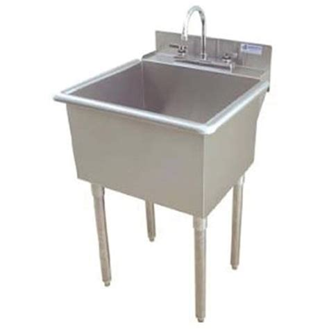 Commercial Sink Griffin Lt 118 Utility Commercial Sink Stainless Steel