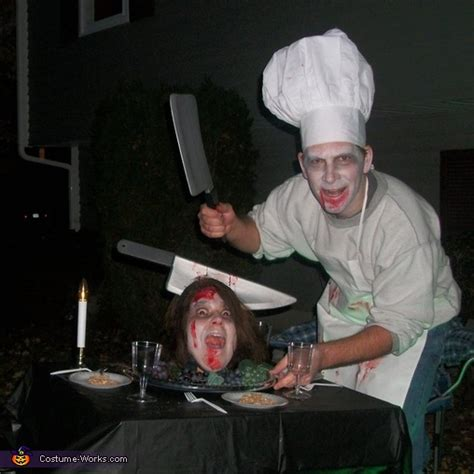 head   platter costume  couples