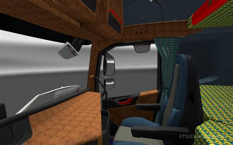 leather carbon interior for volvo fh16 2012 v2 0 ets2 world