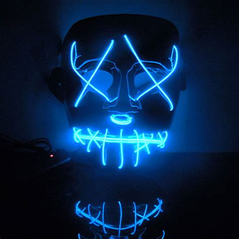 new year masks for sale 2016 new year flash el wire led glowing fashion mask