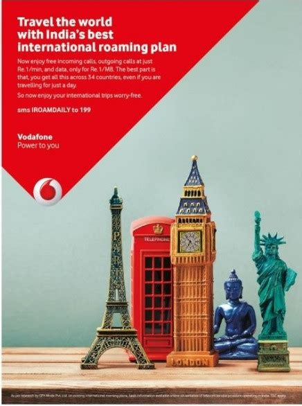 vodafone pack for prepaid mobile vodafone launches international roaming daily packs with
