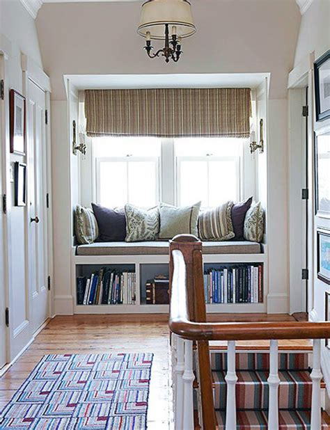 Windowsill Seat relaxing window sill cushioned seats interior decorating articles interior design ideas