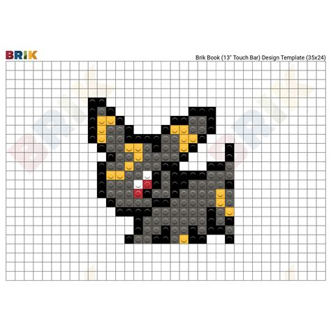 umbreon pixel template umbreon pixel template gallery template design ideas