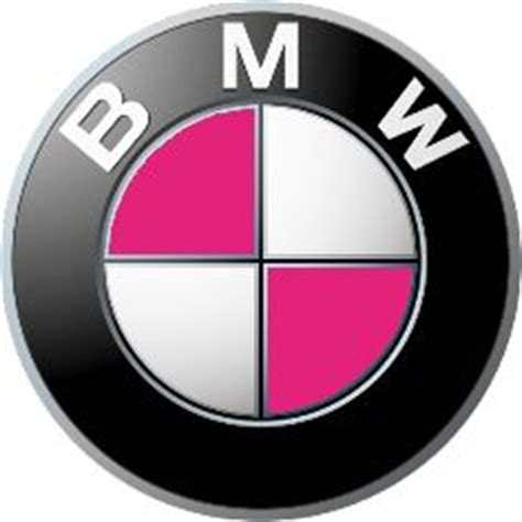 pink bmw emblem bunny bimmer on pink bmw bmw and bling car
